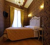 Rococo bedroom — Stock Photo