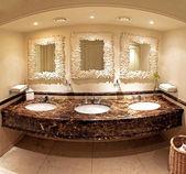 Marble bathroom — Stock Photo