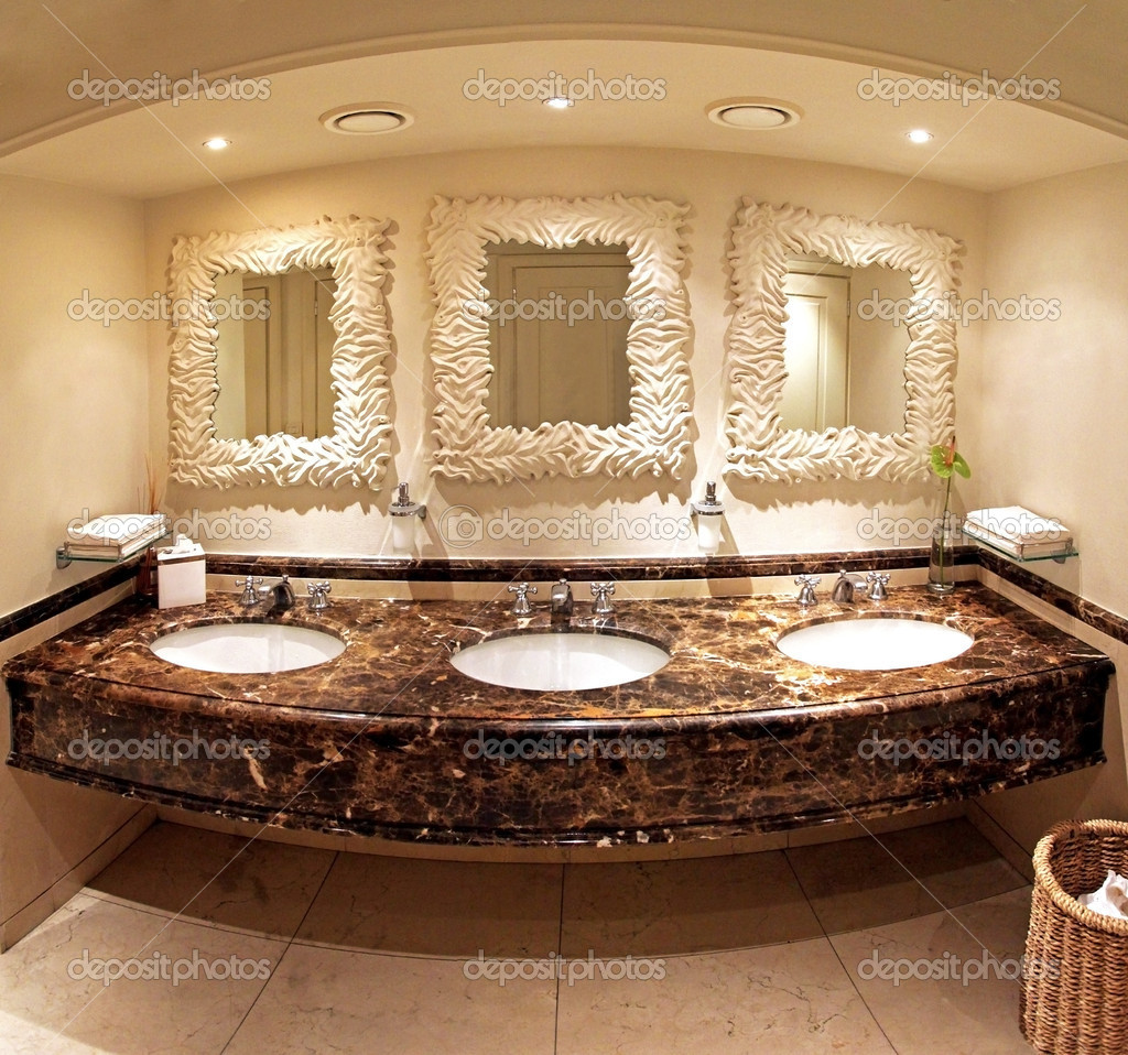 Marmeren badkamer — Stockfoto © ttatty #11410723