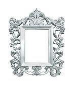 Silver vintage frame — Fotografia Stock