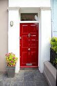 Red door — Foto de Stock