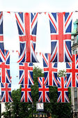 British flags — Stock Photo