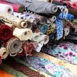 Textile tubes — Stock Photo