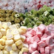 Turkish delight pile - Stock Photo