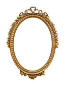 Oval frame — Stock Photo