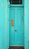 Kwiatowy drzwi — Zdjęcie stockowe