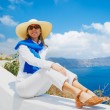 Tourist Relaxing on Vacation — Stock Photo #11405398