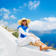 Tourist Relaxing on Vacation — Stock Photo #11405404