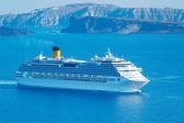 Luxusní výletní lodi — Stock fotografie