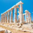 Greece Temple to the Gods - Foto Stock