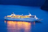 роскошный круизный корабль — Стоковое фото