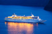Luxury Cruise Ship — Stok fotoğraf