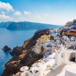 Isla de Santorini, Grecia — Foto de Stock