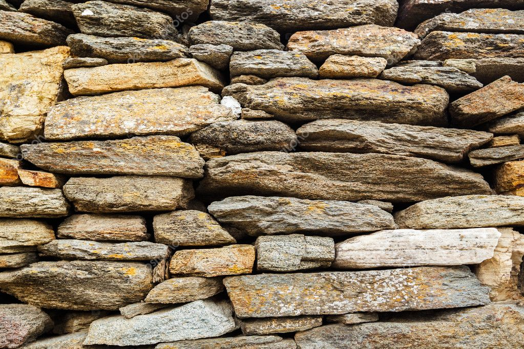 Stone Wall, Abstract Stone Texture  Stock Photo #11521038
