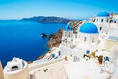Sanorini Island, Yunanistan — Stok fotoğraf