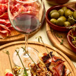 Spanish dinner prepared — Stock Photo #10770579