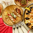 Dinner with paella — Stock Photo #10770584