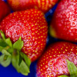 Some ripe strawberries — Stock Photo