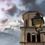 Old World Lamp — Stock Photo