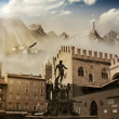 Ancient world — Stockfoto