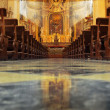 Church interior — Stock Photo #10936866
