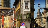 European street scene — Stock Photo
