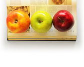 Choice of apples — Stock Photo