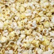 Popcorn photographed close-up — Stock Photo