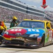 NASCAR 2012:  Sprint Cup Series FedEx 400 Benefiting Autism Spea — Stockfoto