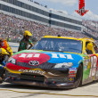 NASCAR 2012:  Sprint Cup Series FedEx 400 Benefiting Autism Spea — Stock fotografie