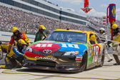 NASCAR 2012: Sprint Cup Series FedEx 400 Benefiting Autism Spea — Stock Photo