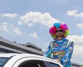 NASCAR 2012: Sprint Cup Series FedEx 400 Benefiting Autism Spea — Zdjęcie stockowe