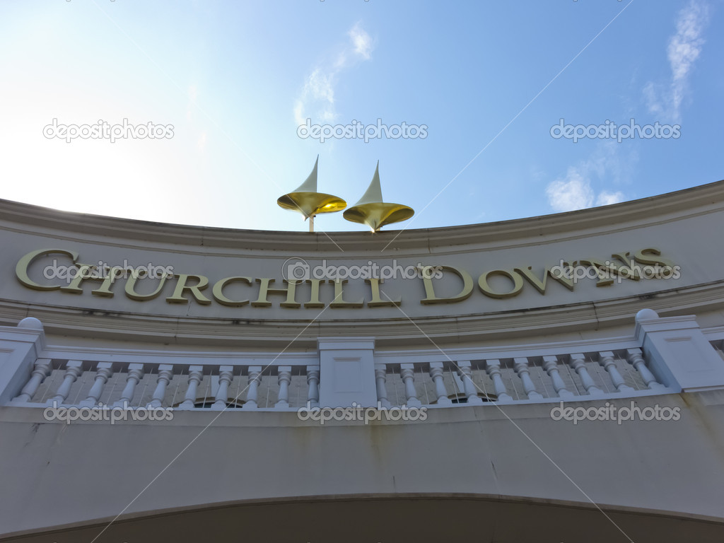 The Legendary Churchill Downs in Louisville, KY — Stock Photo #11421010