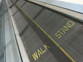 Moving Walkway — Stock Photo