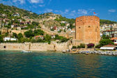 Alanya. The old fortress. — Stock Photo