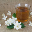 Fragrant jasmine tea — Stock Photo #11015036