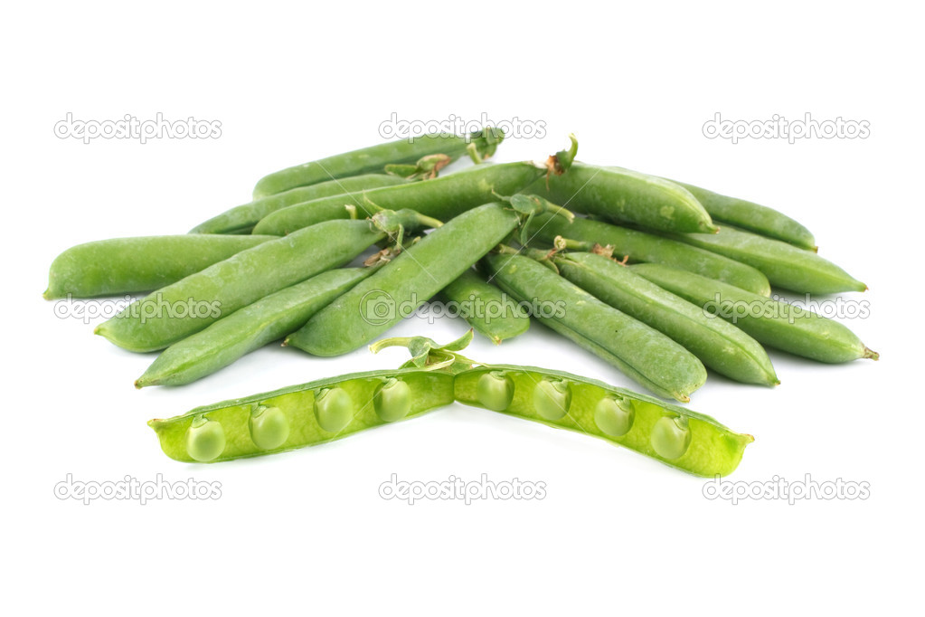 Peas isolated — Stock Photo #11476594