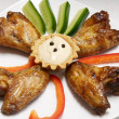 Chicken wing — Stock Photo #10979789
