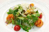 Salad with herring — Stock Photo