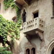 Juliet Capulet balcony — Stock Photo