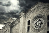 Church facade — Stock Photo