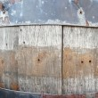 Wooden barrel texture — Stock Photo