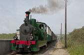 Old steam train in Holland — Stock Photo