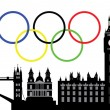 London olympic city — Stock Vector