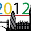 London 2012 — Stock Vector #11573555