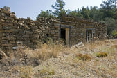 Old ruine on rhodos island — Stock Photo