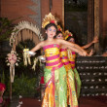 Bali dance evening — Stock Photo #11792814