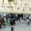 Israel Jerusalem wailing wall woman — Stock Photo #11792934