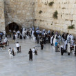 Wailing wall jerusalem — Stock Photo #11792943