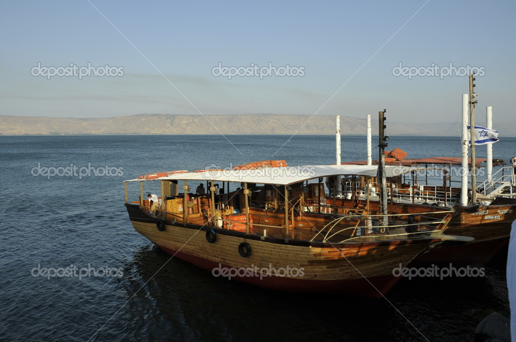 Lake tiberias or galilee — Stock Photo #11796820